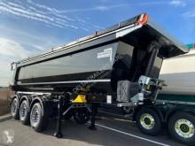 Semi reboque basculante para obras Schmitz Cargobull SKI Porte hydraulique - Auto-suiveur