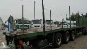 Trailor semi-trailer used timber