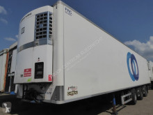 Chereau mono temperature refrigerated semi-trailer ThermoKing Spectrum,multitemp,260 cm hoog,SAF schijfremmenlaadklepp,liftas 2 stuurassen,p Pacton chassis, TUV 12/2020