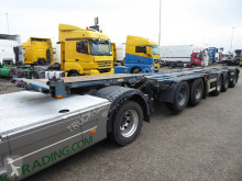 D-TEC container semi-trailer Nooteboom CT-53-05D combi chassis,breker,deelbaar,Alcoa'