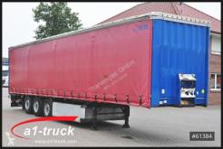 Used tarp semi-trailer Krone SDP 27, Liftachse, Palettenkasten, SAF Achse