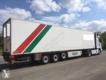 Chereau 1 Essieu relv. Plancher alu semi-trailer used mono temperature refrigerated