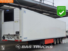 Krone Carrier Vector 1550 Doppelstock Liftachse Palettenkasten semi-trailer used mono temperature refrigerated