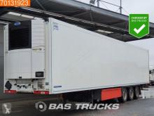 Félpótkocsi Krone Carrier Vector 1550 Doppelstock Liftachse Palettenkasten használt egyhőmérsékletes hűtőkocsi