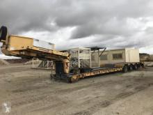 Naczepa Faymonville TL STBZ-4VA 4 ESSIEUX do transportu sprzętów ciężkich używana