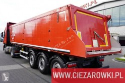Semirimorchio Bodex KIS 3B , 36m3 , 2019 , lift axle , LIKE NEW ribaltabile trasporto cereali usato