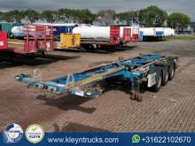 Semi remorque porte containers occasion Van Hool S/00417
