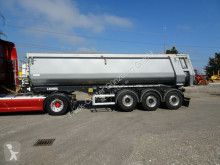 Carnehl CHKS HH hydr. Heckklappe Liftachse 30 cbm semi-trailer used tipper