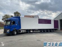Sattelzug Kühlkoffer Einheits-Temperaturzone ISO oplegger met 2T klep ICM Renault 2014 T380 mega trekker