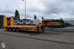 Invepe heavy equipment transport semi-trailer SREX 4DMF 135 AF