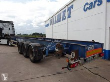 Asca CHASSITAINER semi-trailer used container