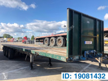 Van Hool Plateau semi-trailer used flatbed