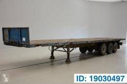 Van Hool flatbed semi-trailer Plateau
