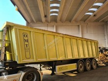OMT Vasca ribaltabile per rottami semi-trailer used scrap dumper