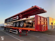 Leciñena flatbed semi-trailer renforcé extensible 21m