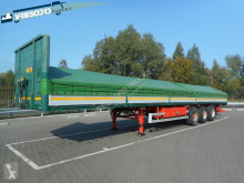 Blumhardt flatbed semi-trailer SAL 40.24 136 E