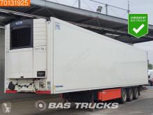 Semi remorque Krone Carrier Vector 1550 SAF Doppelstock Liftachse Palettkasten frigo mono température occasion