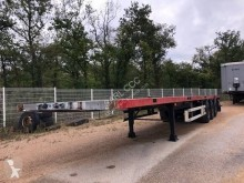Samro plateau d'origine TWISTLOCKS AS 457 FL semi-trailer used flatbed