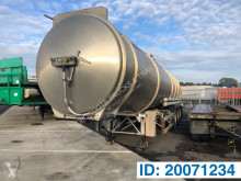 Magyar tanker semi-trailer Stainless steel tank trailer