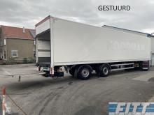 WebTrailer gestuurd oplegger, gesloten opbouw, 2,5 T klep semi-trailer used