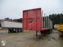 Fruehauf flatbed semi-trailer Plateau à bois