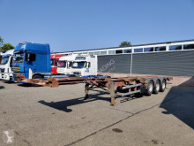 Semirimorchio portacontainers Renders ROC 12.27 CCE SAF - Lift axle Drum Brakes - 20ft 30ft 40ft