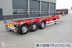 Trailer containersysteem Schmitz Cargobull SCF 27 G | 2x20-30-40-45ft HC * DISC BRAKES * LIFT AXLE