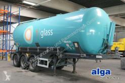 Yarı römork tank tozdan oluşan/toz halinde ürünler Feldbinder KIP 40.3/40 m³./Alu-Chassis/BPW/Luft