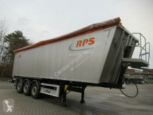 Fliegl 50 cbm Hinterkipper,1/2+1/2 Türen + Pendelklappe semi-trailer used tipper