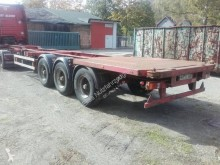 Semiremorca Blumhardt 20/30/40 FT High Cube Drum Brake Multi transport containere second-hand