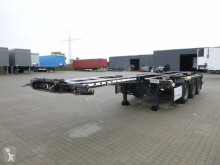Krone Tieflader semi-trailer used container
