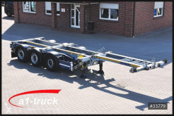 Semi remorque châssis Schmitz Cargobull SCF 24 G - 40 Slider verzinkt GGVS/ ADR