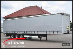 Semirimorchio Krone SD Tautliner, LBW 2500kg, TÜV 04/2021 centinato alla francese usato