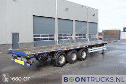 Trailer platte bak Van Hool S/00152 | 2x20-40ft TWISTLOCKS * HARDWOOD FLOOR
