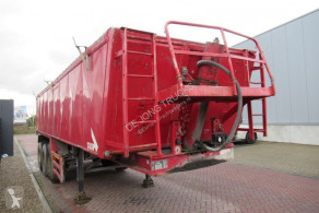 Semi remorque Stas M alu tipper 27 3 / mb disc / lift axle benne occasion
