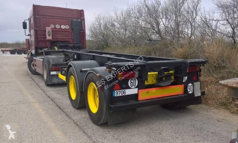 View images Fruehauf 20 pieds crochet reconditionnée semi-trailer