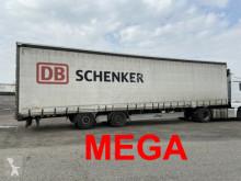 Trailer Fliegl Mega 3 m Innenhöhe SZS300 Twin2 Achs Planenaufl tweedehands met huifzeil