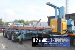 Semirimorchio Van Hool semirimorchio portacontainer scarrabile e ribaltabile 20 piedi portacontainers usato