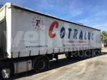 Lecitrailer SR-3E semi-trailer used tautliner
