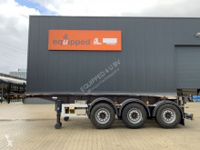 Van Hool semi-trailer 20FT/3-axle, empty weight: 3.300kg, SAF INTRADISC, 2x liftaxle, ADR, NL chassis, ADR/APK: 04/2021