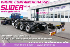 Návěs Krone SDC 27/eLTU6 / SLIDER / 20/30/40 /45 fuss + HC podvozek použitý