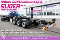 Semirimorchio telaio Krone SDC 27/eLTU6 / SLIDER / 20/30/40 /45 fuss + HC