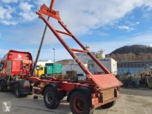 Krone 20 ft Kippchasis mit Separatmotor semi-trailer used chassis