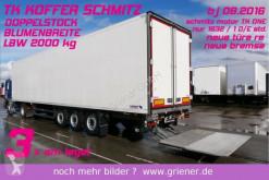 Semirimorchio Schmitz Cargobull SKO 24/ LBW 2000 kg / BLUMEN /DOPPELSTOCK 2,70 frigo usato