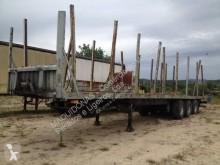 Trailor S383EL semi-trailer used flatbed