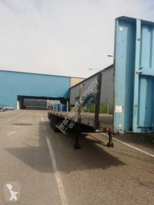 Trailor iron carrier flatbed semi-trailer