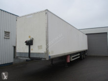 Semirremolque furgón Samro box trailer , drum brakes , air suspension