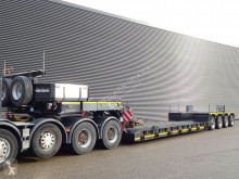 Nooteboom heavy equipment transport semi-trailer EURO-96-04 / PENDEL AXLE / REMOVABLE NECK