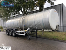 Fruehauf tanker semi-trailer tank 32324 Liter, Isolated waste water tank