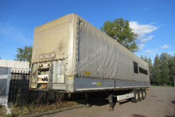 Krone SD semi-trailer used tautliner